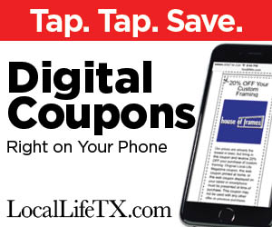 local life,digital coupon, coupon,burleson,crowley,joshua,texas
