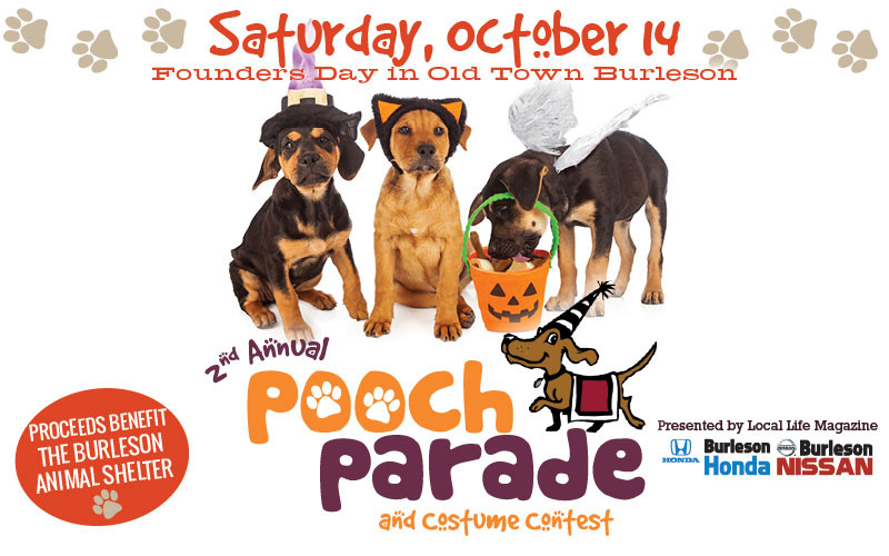 Register Your Pet for Burleson's 2nd Annual Pooch Parade!