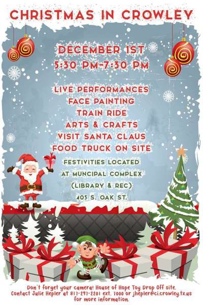 Christmas Lights In Crowley, Tx 2020 Christmas in Crowley | Local Life Magazine Texas
