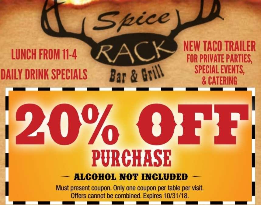 Spice Rack 1019