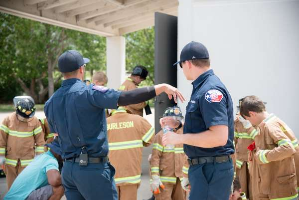 Junior Fire Academy @ Burleson Fire Department