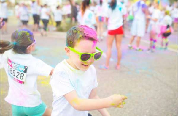 Kidz Kolor Run @ Bicentennial Park