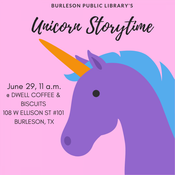 Unicorn Story Time @ Dwell Coffee & Biscuits