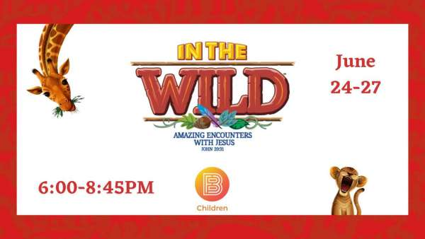 In the Wild Vacation Bible School @ First Baptist Church Burleson