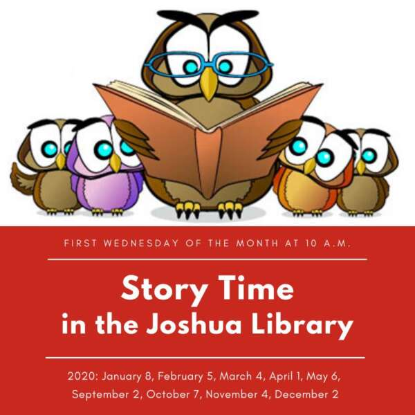 Story Time at Joshua Library @ Joshua Library