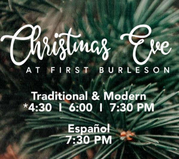 Christmas at First Burleson @ First Baptist Burleson