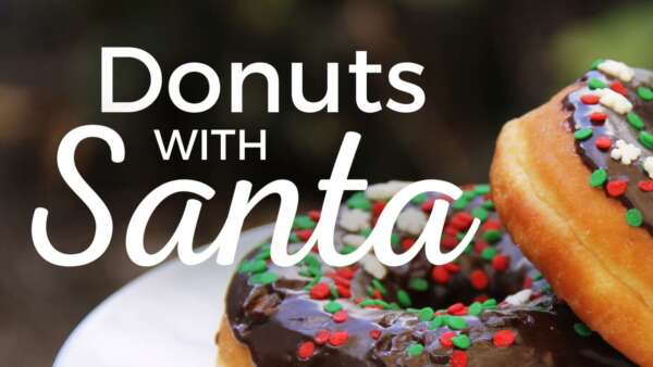 Donuts with Santa @ Russell Farm Art Center