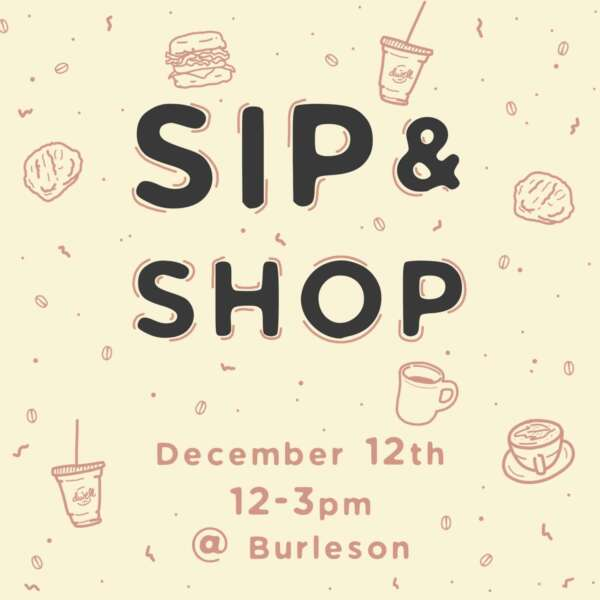 Sip & Shop @ Dwell Coffee & Biscuits