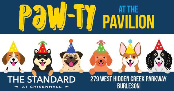Pawty at the Pavilion @ The Standard at Chisenhall