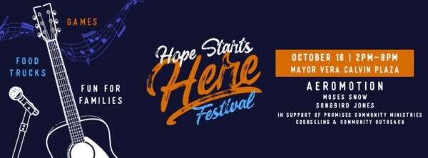 Hope Starts Here @ Mayor Vera Calvin Plaza | Burleson | Texas | United States